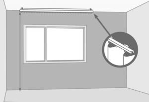 de kosten van het stomen van uw gordijn zijn afhankelijk van het aantal vierkante meter m2 hiervoor wordt de lengte x breedte van het gordijn opgemeten
